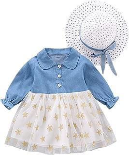 Toddler Infant bébé filles floral fausse fourrure gilet Princesse Robe Ensemble chaud Tenues