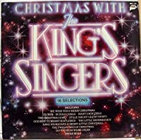 THE KINGS SINGERS christmas with LP Used_VeryGoodMMG 1126 Vinyl 1980 Record