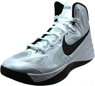 Hyperfuse TB Men's Basketball Shoes 525019 100 (9.5) White/Black