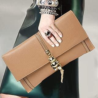 Fashion Handbags, Wild Bag, Fashion Bag, Temperament Envelope Bag, Outdoor Diagonal Bag (Color : Gray)