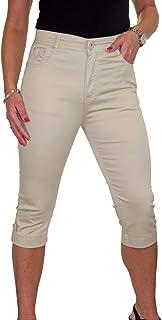 ICE Jeans Capri con Elasticità e Lucentezza, Polsino 42-52