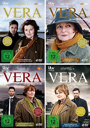 Vera - Ein ganz spezieller Fall: Staffel 1-4 (16 DVDs)
