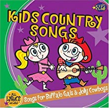 Kids Country Songs - For Buffalo Gals & Jolly Cowboys