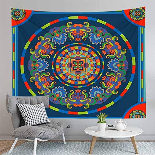 PPOU Tapiz de Mandala 3D montado en la Pared decoración de la Sala de Estar decoración de la Pared del hogar Tapiz de Tela de Fondo sofá Toalla A8 73x95cm