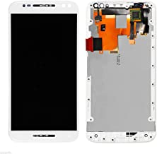 LCD Display Digitizer Touch Screen Assembly For Motorola Moto X Pure Edition XT1575 (White with Frame)