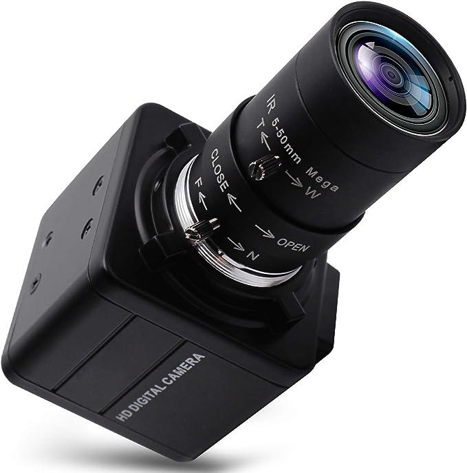 22 opinioni per Webcam 4K Ultra HD Varifocal HD 5-50 mm obiettivo USB Mini webcam