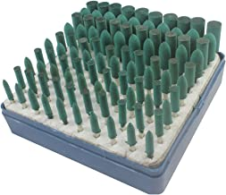 Cratex #59C Rubberized Abrasive Wheels 5//8X1//4 Coarse Box of 100