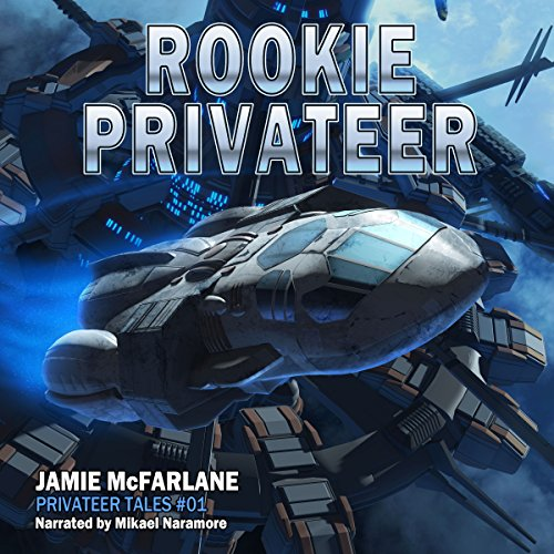 Rookie Privateer audiobook cover art