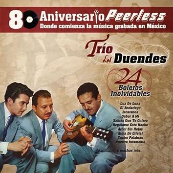 Peerless 80 Aniversario - 24 Boleros Inolvidables