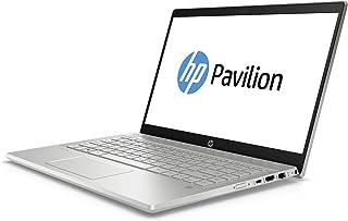HP Pavilion 14-ce0006ne Laptop, Intel Core i5-8250U, 14 Inch, 1TB, 8GB RAM, Nvidia Geforce MX150 (2GB Graphics), Win 10, Eng-Ara KB, Mineral Silver