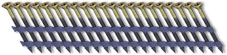 Fasco SCFP1013FVEG Scrail Fastener Fijne Draad 20-22-graden Plastic Strip Electro-Gegalvaniseerde Versa Drive, 3-Inch x .1...
