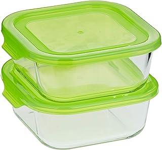Taliona TL2213377 Boro Square Food Container Set - Green
