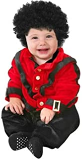 Baby Pop Star Costume: Infant 12-18 Months Red