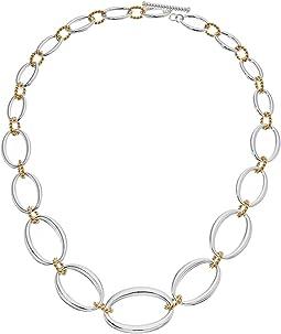 LAUREN Ralph Lauren - Perfect Pieces 18 in Oval Link Necklace