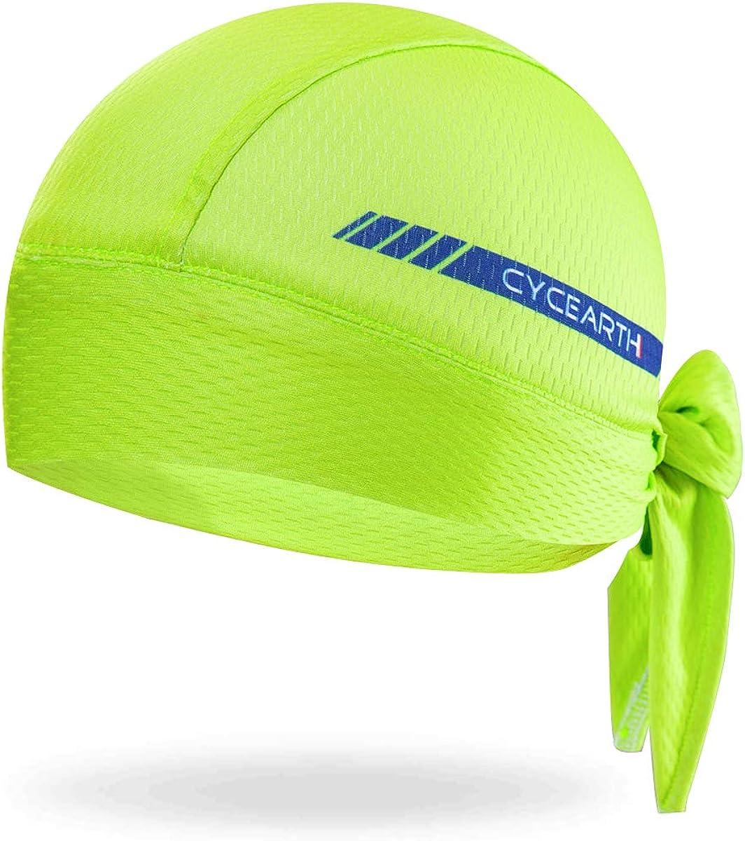CYCEARTH Cycling Headscarf New product! New type Dew Rag Men Head Cool Hood Skull Caps Max 70% OFF