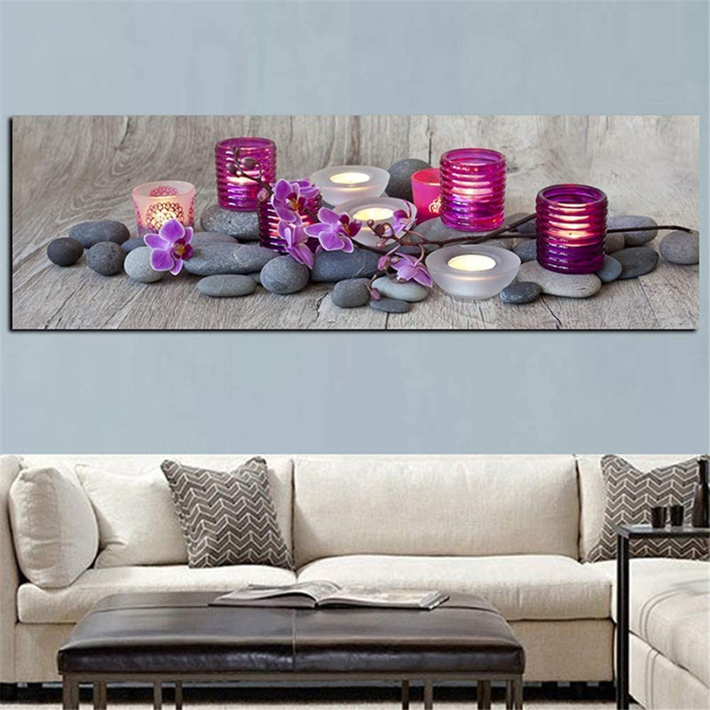 Luxury goods Diamond Embroidery Large DIY Time sale 5D Painting Kits Orchid Flo