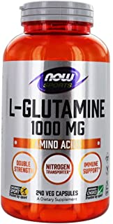 Now Foods L-Glutamine 1000Mg 240 Caps