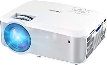Video Projector, TOPVISION 1080P Supported Ugpraded LED Projector with 4200Lux, 60,000..