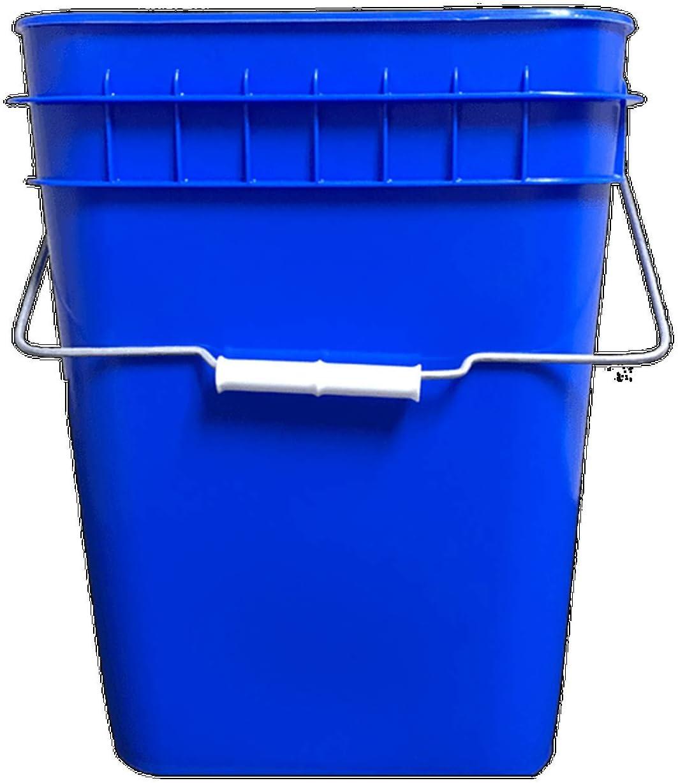 Purchase Blue Over item handling ☆ Economy Square 4 Gallon 18 Bucket Pack Plastic
