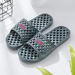 Cxcdxd Men's Flip Flops Mules Lightweight Slippers,Bathroom non-slip bath slippers, summer home massage sandals,Outdoor Sp...