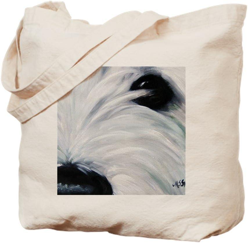 CafePress Eye See You Tote Bag Natural Canvas Tote Bag, Reusable Shopping Bag