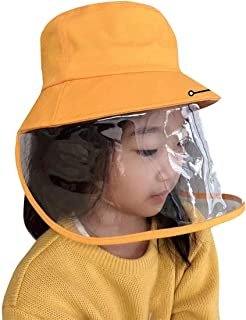 Kid Anti Spitting Protective Hat Face Shield Fisherman Hat Anti Splash Safety Droplets Hat