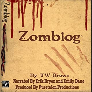 Zomblog, Book 1 audiobook cover art