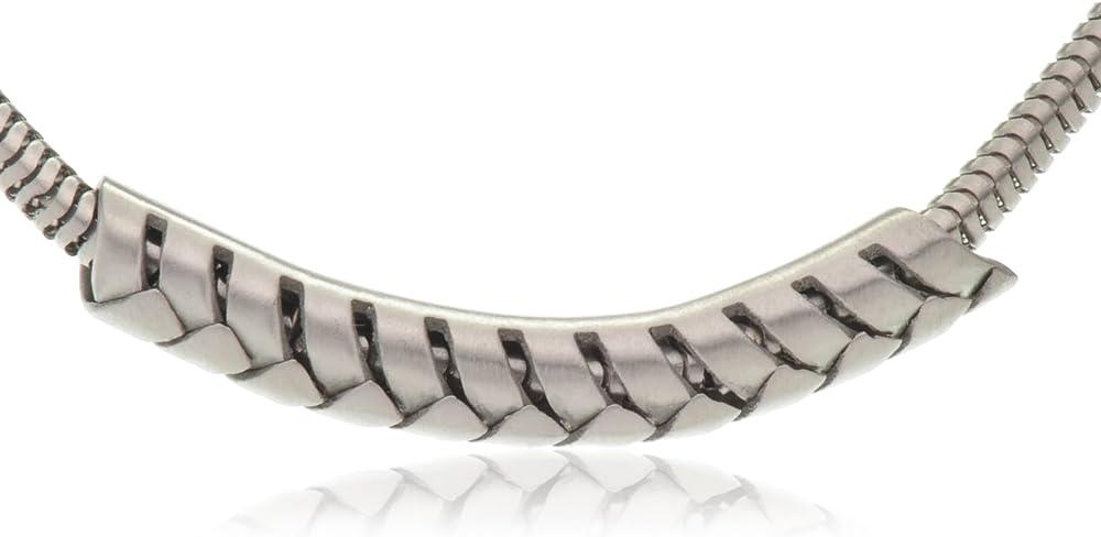 Breil tribe arrow collana per donna in acciaio TJ0660