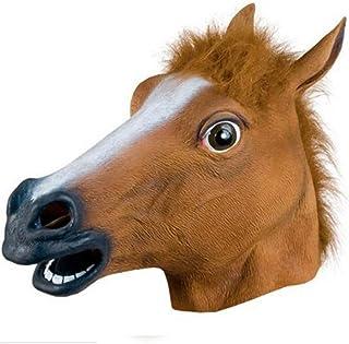 Amazon.es: disfraz cabeza caballo
