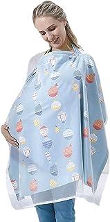 DMG Breastfeeding Nursing Cover, Breast-Feeding Towel,Lightweight Breathable Cotton Privacy Feeding Cover, Nursing Apron f...