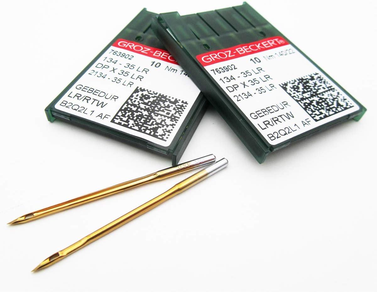 für LEDER Stärke:Nm160 GROZ-BECKERT Nadeln 10 Nähnadeln 135x16TRI DPx16D