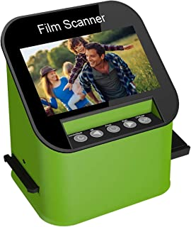 Film Scanner with 22MP High Resolution Slide Scanner Converts 35mm, 110 & 126 and Super 8 Films, Slides and Negatives to J...