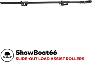 yakima - Showboat 66 Rooftop Mounted Canoe and Kayak Load Assist System for Vehicles