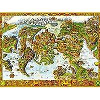 クラシックパズルゲーム 中国スタイルの素晴らしい自然コレクション - 1000パズルピース大人/子供(70X50CM)を収集頭脳パズルゲームアートの価値を開発 頑丈で簡単 (Color : T)