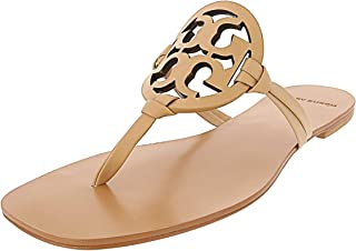 TORY BURCH Marguerite 2  Embellished Flip Flops  PERFECT NAVY  Sz 10  New in Box