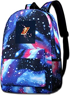Galaxy Printed Shoulders Bag Carcaptor Sakura Kero Chan Cerberus Clow Book Fashion Casual Star Sky Backpack For Boys&girls
