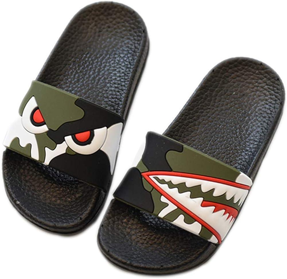 Animal Slippers 67% OFF of fixed price Cartoon Shark Pattern overseas Ma Lightweight Sandals PVC