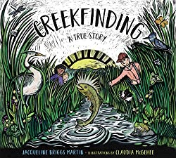 Book cover for picture book Creekfinding a True Story