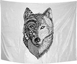 Best zentangle wolf head Reviews