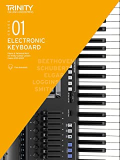 Trinity College London Electronic Keyboard Exam Pieces & Technical Work 2019–2022: Grade 1