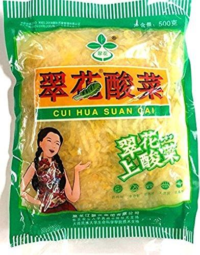 翠花酸菜 白菜塩漬 (Cui Hua Suan Cai) 500g 黒?江翠花集?有限公司 常温冷暗所可保存