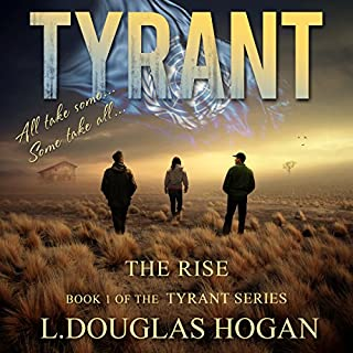 Tyrant: The Rise audiobook cover art