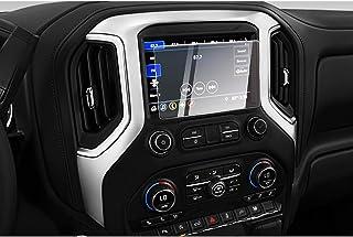 CDEFG for 2019 2020 2021 Silverado 1500 Infotainment 3 Car Touchscreen Navigation Touch Screen Protector, HD Clear Tempere...