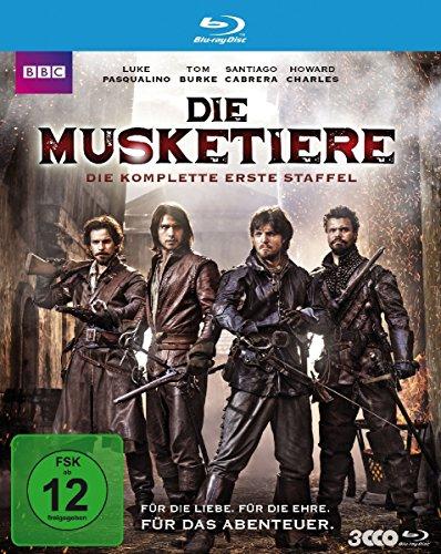 Die Musketiere - Die komplette erste Staffel [Blu-ray]