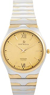 Sun Rock Dress Watch For Male - Analog Stainless Steel Band - SRG114