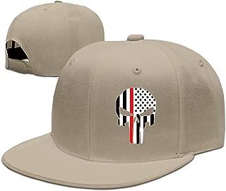 Men Women Thin Red Line American Firefighter Baseball Cap Snapback