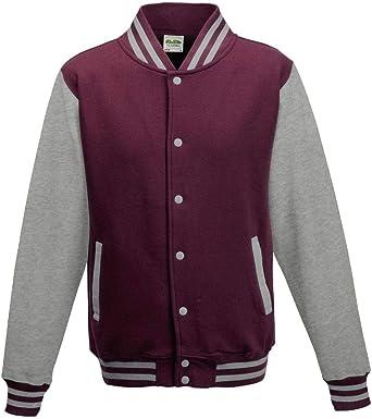 Just Hoods Varsity Jacket Unisex College Jacket