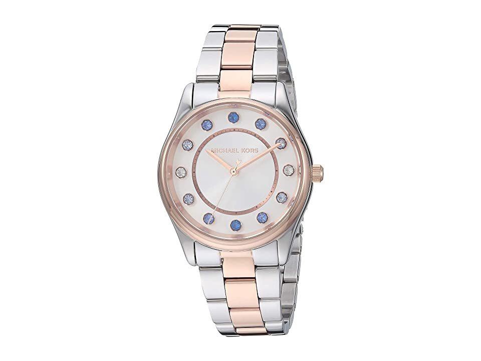 Michael Kors MK6605 - Colette (Two-Tone/Silver) Watches