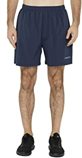 Men's 5 Inch Dry Fit Running Shorts Lightweight Workout Athletic Gym Shorts with Zipper Pockets