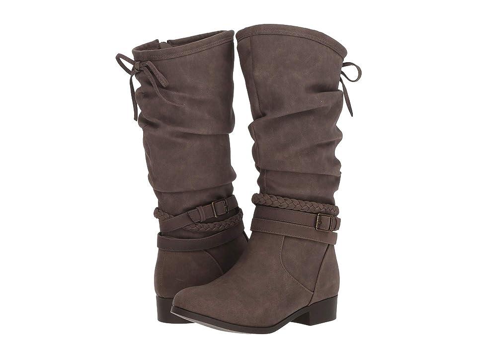 Nine West Kids Altah (Little Kid/Big Kid) (Taupe Faux Nubuck) Girls Shoes